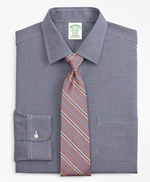 Milano Slim-Fit Dress Shirt, Non-Iron Micro-Check 썸네일 이미지 1