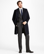 Golden Fleece® BrooksStorm® Westbury Cashmere Overcoat 썸네일 이미지 1