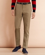 Stretch Cotton Twill Trousers 썸네일 이미지 1