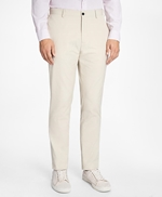 Slim-Fit Cotton Suit Trousers 썸네일 이미지 1