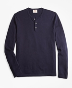 Cotton-Cashmere Henley 썸네일 이미지 1