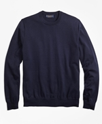 Supima® Cotton Crewneck Sweater 썸네일 이미지 1