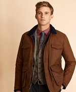Four-Pocket Waxed Canvas Jacket 썸네일 이미지 1