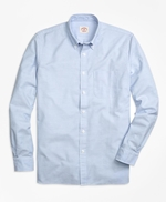 Solid Oxford Polo Button-Down Shirt 썸네일 이미지 1