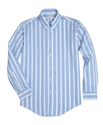 Non-Iron Regent Fit Stripe Sport Shirt 썸네일 이미지 1