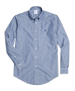 Non-Iron Regent Fit Broadcloth Stripe Sport Shirts 썸네일 이미지 1