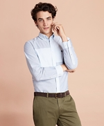 Patchwork Oxford Sport Shirt 썸네일 이미지 1