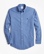 Non-Iron Regent Fit Heathered Sport Shirt 썸네일 이미지 1