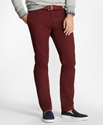 Slim Fit Garment-Dyed Chinos 썸네일 이미지 1