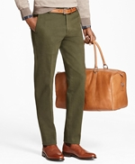 Milano Fit Brushed Twill with Stretch Chinos 썸네일 이미지 1