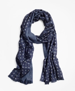 Double-Faced Wool Scarf 썸네일 이미지 1