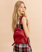 Pebbled Leather Backpack 썸네일 이미지 1