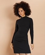 Crepe Jersey Ruched Sheath Dress 썸네일 이미지 1