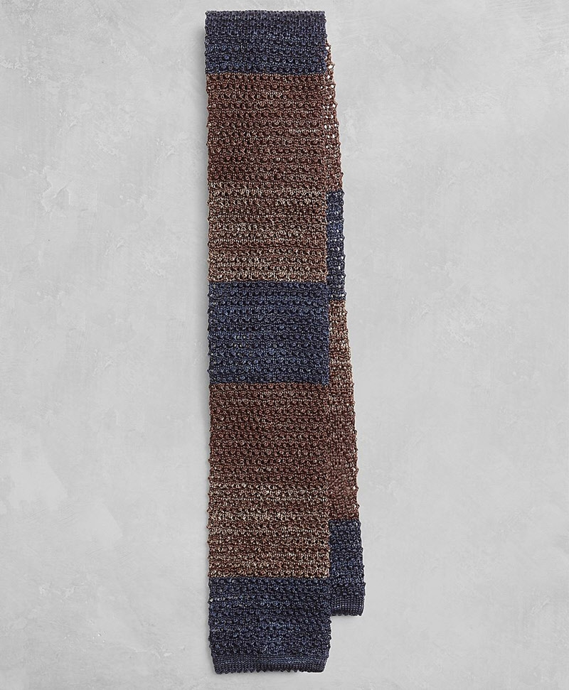 Golden Fleece® Multi-Stripe Knit Tie 썸네일 이미지 1