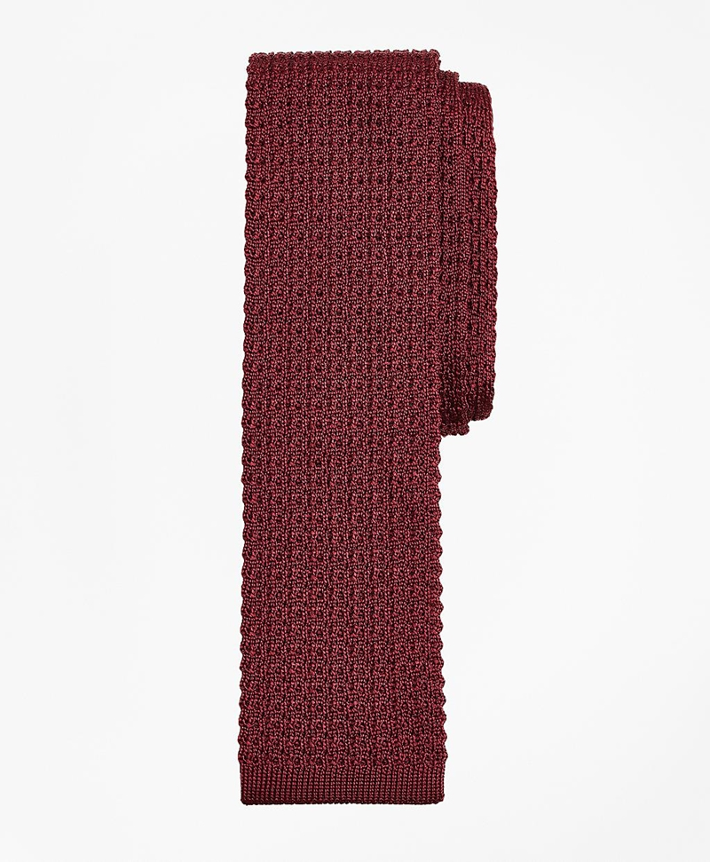 Textured Knit Tie 썸네일 이미지 1