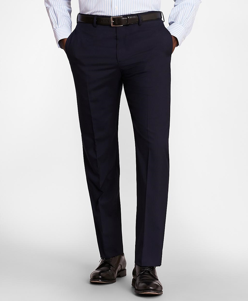BrooksGate™ Regent-Fit Wool Suit Pants 썸네일 이미지 1