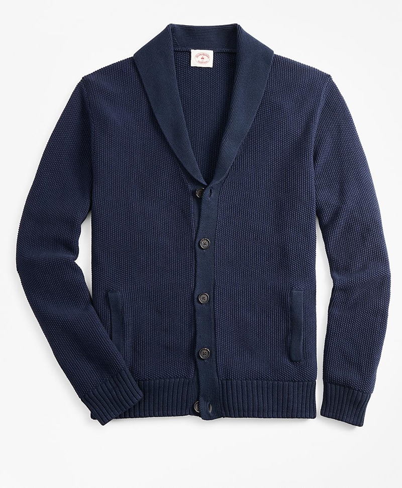 Shawl-Collar Cardigan 썸네일 이미지 1