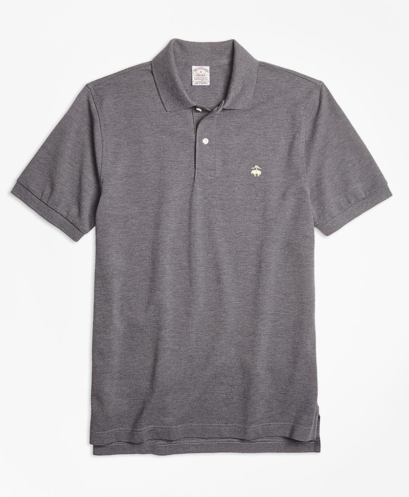 Extra-Slim Fit Supima® Cotton Performance Polo Shirt 썸네일 이미지 1