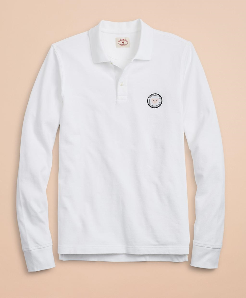 Year of the Pig Long-Sleeve Polo 썸네일 이미지 1