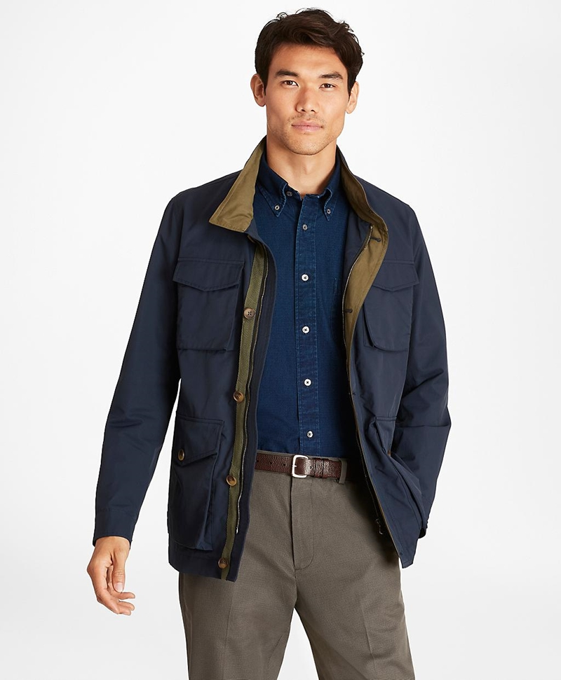 Water-Repellent Field Jacket 썸네일 이미지 1
