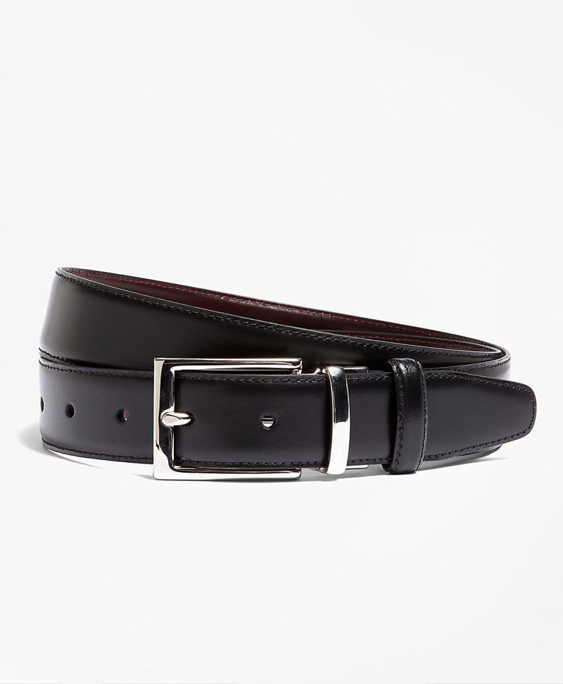 Reversible Leather Belt 썸네일 이미지 1