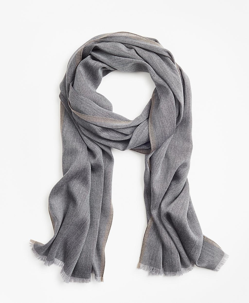 Wool Blend Scarf 썸네일 이미지 1