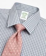 Milano Slim-Fit Dress Shirt, Non-Iron Check 썸네일 이미지 2