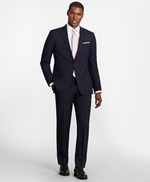 BrooksGate™ Regent-Fit Wool Suit Pants 썸네일 이미지 2