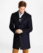 Black Watch Wool-Blend Topcoat 썸네일 이미지 2