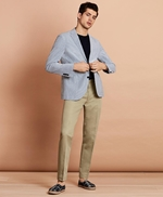 Linen-Blend Twill Trousers 썸네일 이미지 2