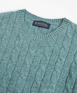Lambswool Cable Crewneck Sweater 썸네일 이미지 2