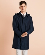 Water-Repellent Hooded Trench Coat 썸네일 이미지 2