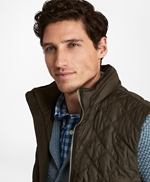 Diamond Quilted Vest 썸네일 이미지 2