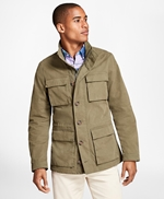 Washed Canvas Field Jacket 썸네일 이미지 2