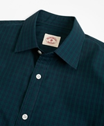 Black Watch Tartan Nine-to-Nine Spread Collar Shirt 썸네일 이미지 2