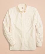 Solid Cotton Oxford Sport Shirt 썸네일 이미지 2