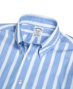 Non-Iron Regent Fit Stripe Sport Shirt 썸네일 이미지 2