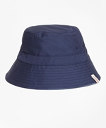 Reversible Paisley Cotton Jacquard Bucket Hat 썸네일 이미지 2