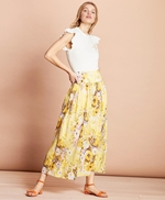Floral-Print Cotton Maxi Skirt 썸네일 이미지 2
