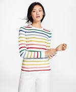 Shimmer-Stripe Sweater 썸네일 이미지 2