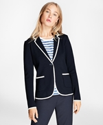 Supima® Cotton Knit Blazer 썸네일 이미지 2