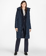 Fur-Trimmed Down Puffer Coat 썸네일 이미지 2