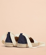 Floral-Embroidered Espadrilles 썸네일 이미지 2