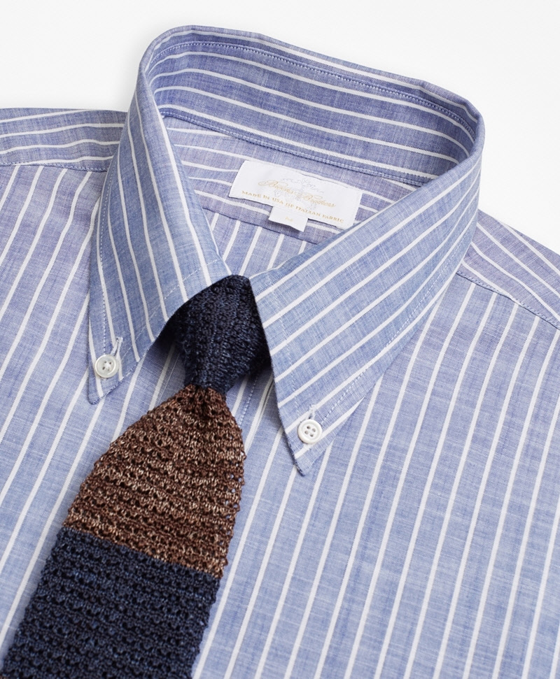 Golden Fleece® Multi-Stripe Knit Tie 썸네일 이미지 2