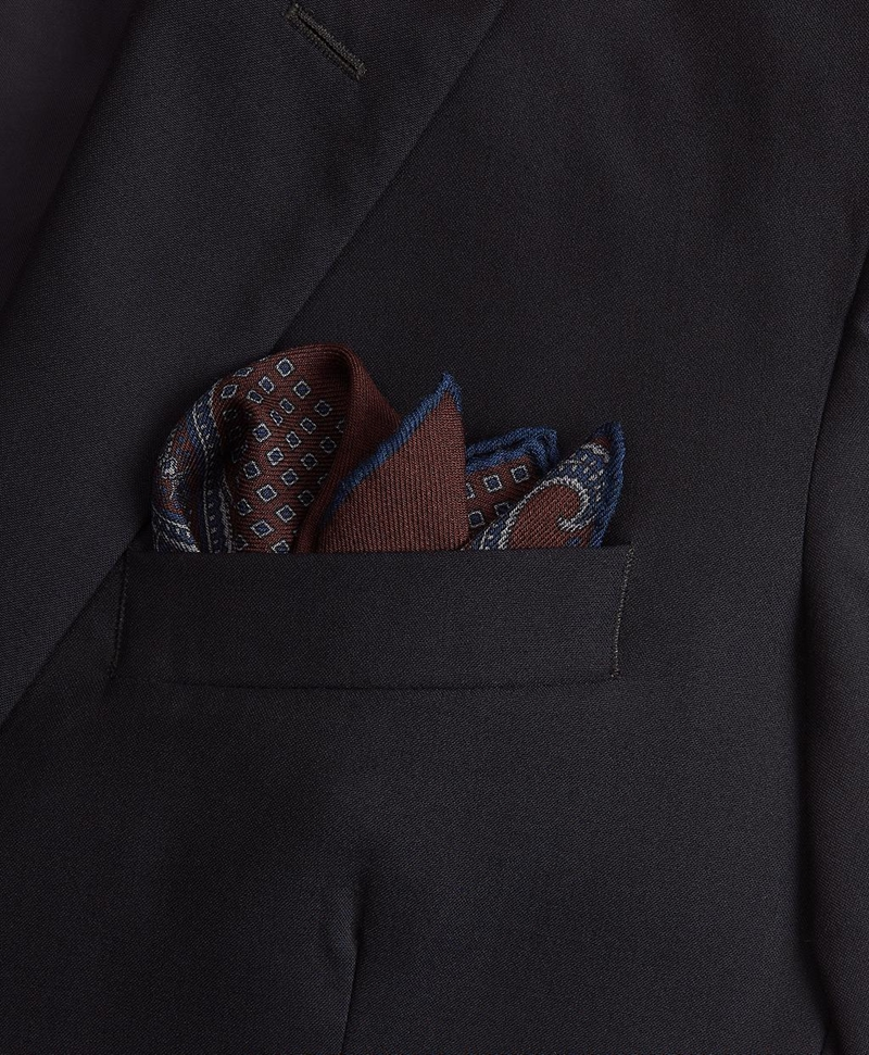 Patchwork Flannel Pocket Square 썸네일 이미지 2
