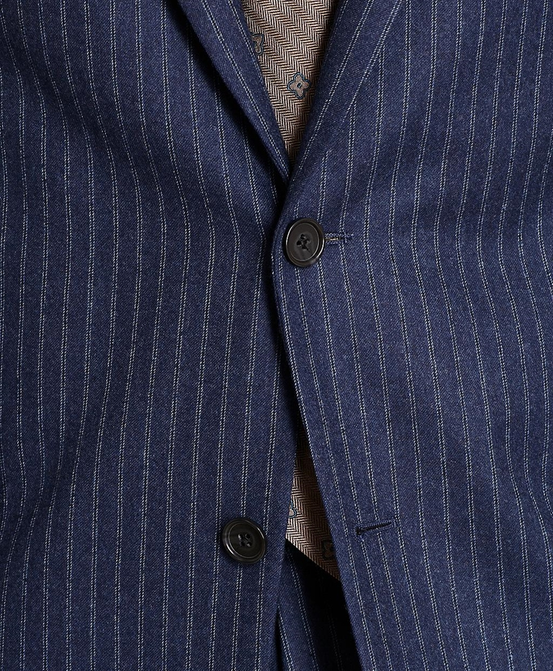Regent Fit Double Stripe Flannel 1818 Suit 썸네일 이미지 2