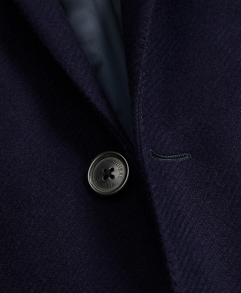 Single-Breasted Wool Topcoat 썸네일 이미지 2
