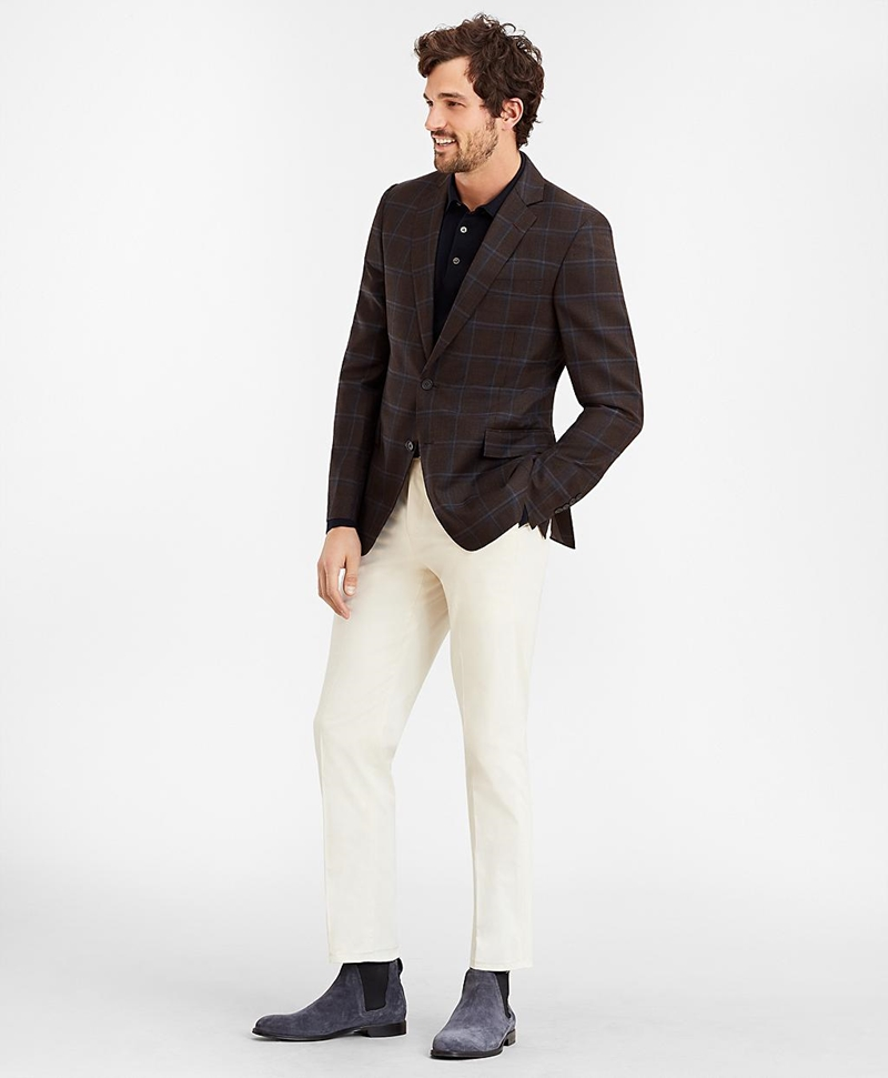 Regent Fit Supima® Cotton Trousers 썸네일 이미지 2