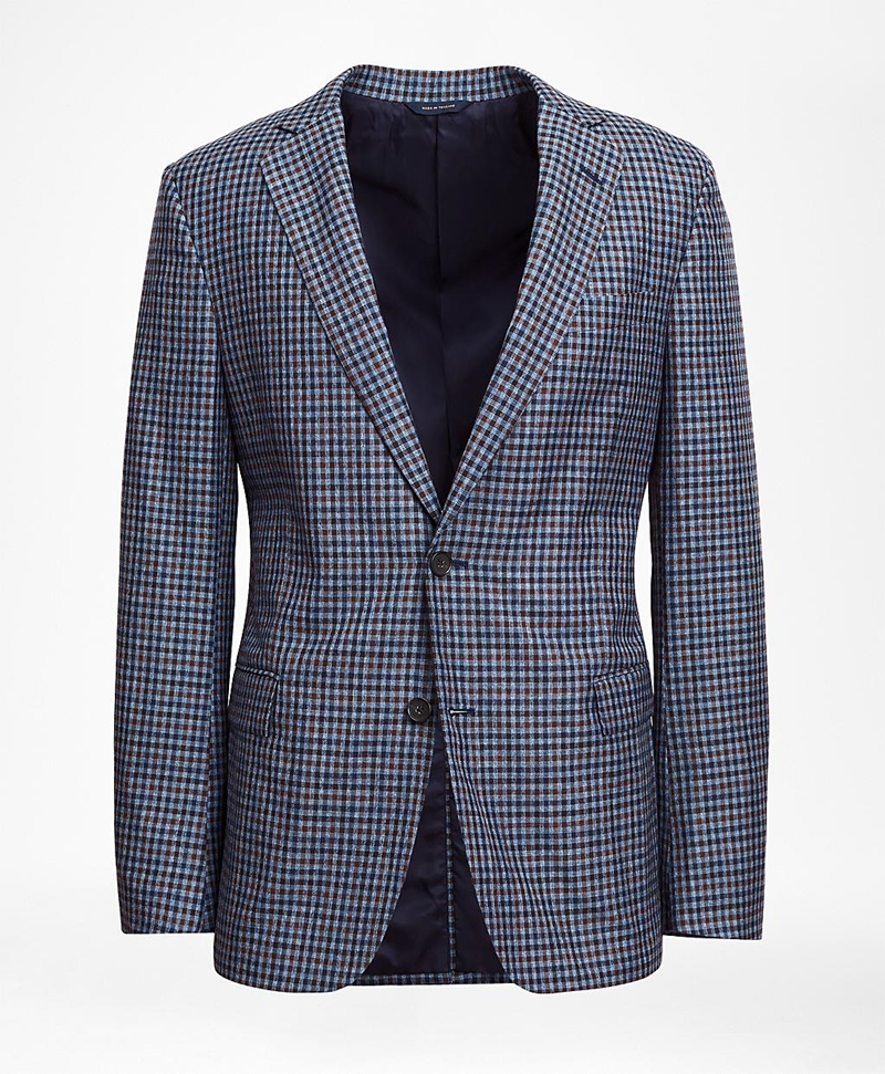 Regent Fit Check Sport Coat 썸네일 이미지 2