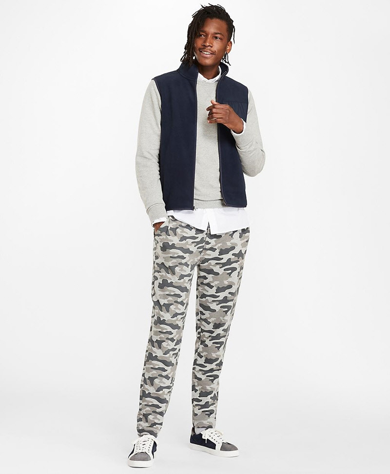 French Terry Camo Sweatpants 썸네일 이미지 2